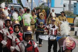 HSS Pertahankan Adipura Dengan Kampung Bersih