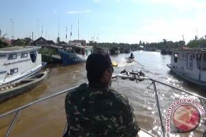 Lanal Buka Posko Di Sepanjang Perairan Kalsel