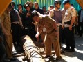 Penemuan Meriam Kuno di proyek Jalan Sudirman
