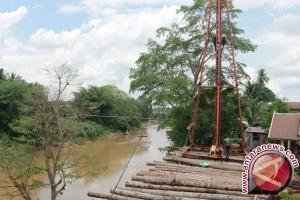 Dinas PU Rekonstruksi Jembatan Tanjung Pascabencana