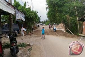 Jembatan Desa Kupang Sudah Bisa Dilewati Kendaraan