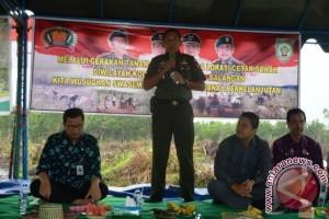 TNI-AD Sukseskan Program Swasembada Pangan Nasional