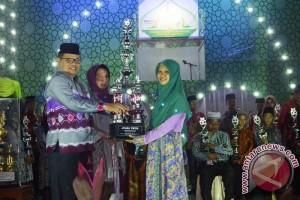 Tazkiah Aulia Juara Umum Perorangan MTQ Balangan