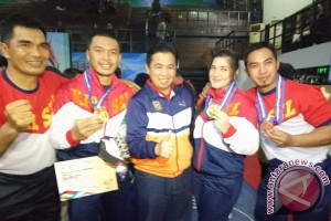 S Kalimantan Wrestler Wins Gold Again