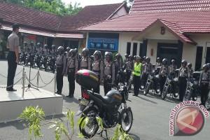 Polres Kotabaru Bagikan 58 Kendaraan Bermotor Bhabinkamtibmas