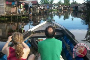 Canal Tour Paling Diminati Wisman Ke Banjarmasin