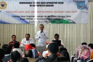 Pemkab Banjar Latih Aparatur Pengelola Dana Desa
