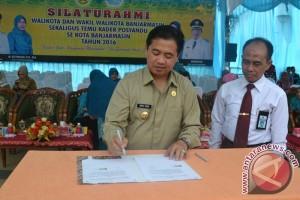 Trotoar Banjarmasin Akan Saingi Bandung