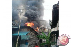 Fire at Gang Penatu