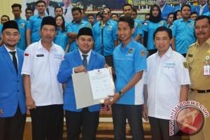 Kepengurusan KNPI Banjarmasin Dilantik