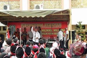 Ribuan Warga Ikuti Kegiatan Nusantara Bersatu