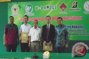 ULM - Waseda University Lanjutkan Kerjasama Pengembangan Hutan