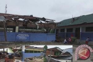 Kerugian Akibat Angin Kencang Banjarbaru