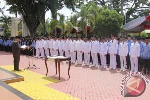 Plt Bupati HSU Lantik 603 Pejabat