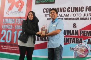Faisal R Juara Lomba Foto Antara - Adaro