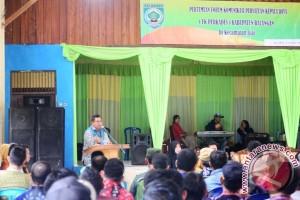 Bupati Balangan Menaikkan Insentif Aparatur Desa