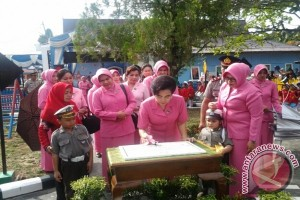 Ketua YKB Kalsel  Resmikan  Taman  Lalu Lintas Tabalong