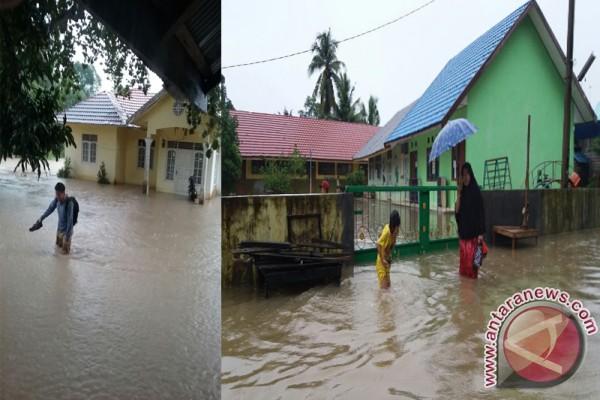 Empat Desa Di Tapin Dikepung Banjir
