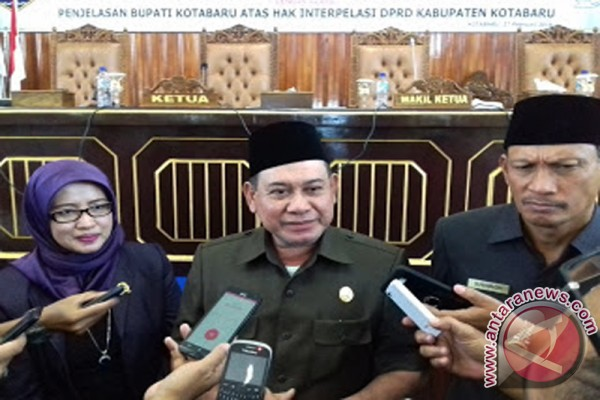 Bupati Kotabaru Komitmen Percepat Pembangunan Infrastruktur