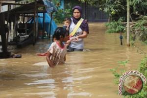 Banjir Tapin Rendam Ratusan Rumah