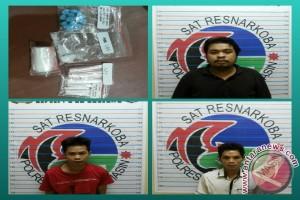 Polresta Banjarmasin Tangkap Tiga Pelaku Penyalahgunaan Narkoba