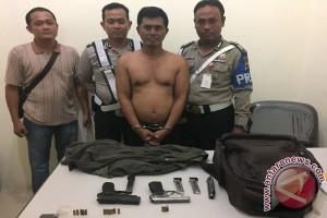 Polsek KPL Banjarmasin Gagalkan Penyeludupan Senjata Api