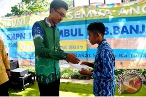Wabup Banjar Apresiasi SMPN 1 Astambul