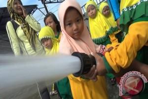 BPBD Kenalkan Anak TK Alat Penanggulangan Bencana