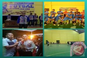 "Kapolres : Turnamen Futsal ""Sigar Bapaluh"" Untuk Mempererat Keakraban Personel"