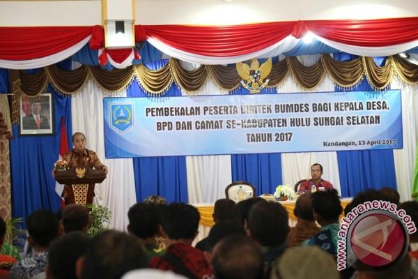 143 Desa Ikuti Pembekalan Bimtek BUMDes