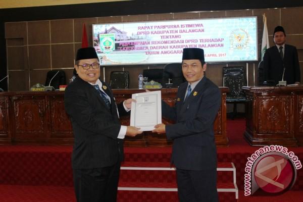 DPRD Sampaikan Rekomendasi Terhadap LKPj Kepala Daerah