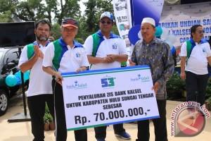 Rp70 juta Untuk Panti Asuhan Di HST