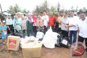 Pemkab Banjar Bantu Puluhan Korban Kebakaran