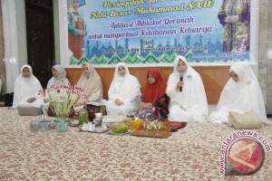 Lantunan Shalawat  Sejukan  Peringatan Isra Mi'raj