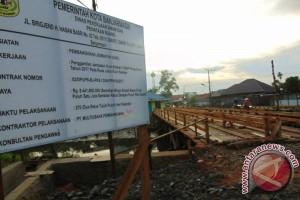 Banjarmasin Rombak Jembatan Sungai Kuin