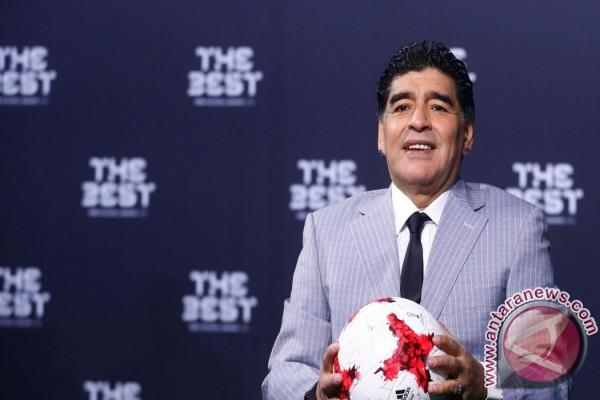 Maradona Ditunjuk Sebagai Pelatih Kepala Al Fujairah