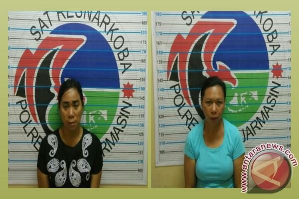 Polresta Banjarmasin Tangkap Dua Ibu Edarkan Narkotika
