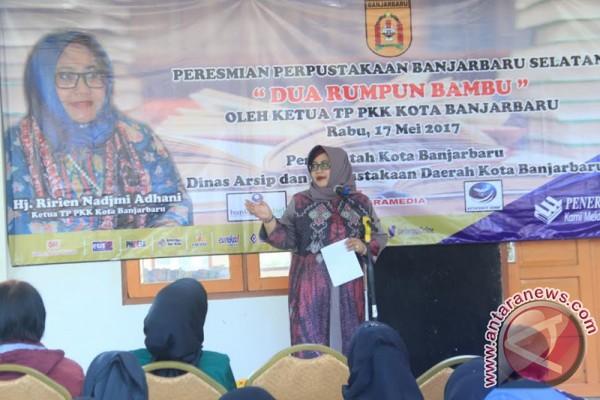 Banjarbaru Selatan Miliki Perpustakaan Percontohan