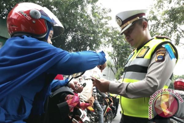 Razia Gabungan Tilang 50 Pengendara