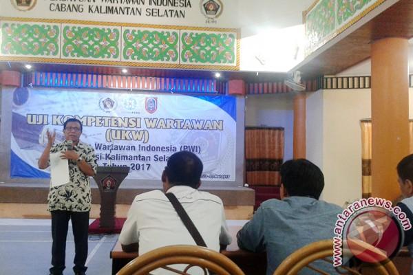 PWI Kalsel Gelar Uji Kompetensi Wartawan