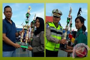 98 Peserta Ikuti Lomba PKS Dan PBB Polresta Banjarmasin