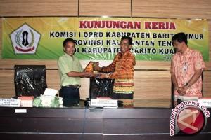 Bartim Kalteng Kunjungi Kalsel Terkait Dana Desa