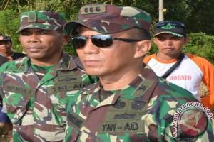 500 TNI Dibackup 600 Anggota Polda