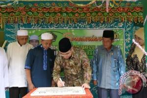 Bupati HSS Bantu Pembangunan Ponpes  Tahfizhul Quran Putri
