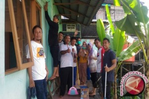 Muslim Kalsel Bersihkan Tempat Ibadah Jelang Ramadhan