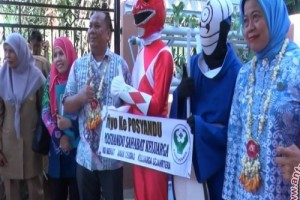 Posyandu HSU Wakili Kalsel ke Tingkat Nasional