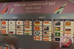 Indonesia -India Jalani Laga Penentu Langkah Piala Sudirman