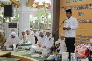 Gubernur Kalsel Hadiri Haul HA Sulaiman HB