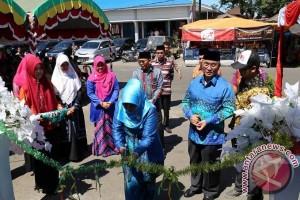 Bupati HSS Resmikan Pasar Ramadhan Negara