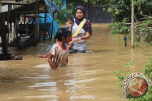 Dua Kecamatan Di Tapin Direndam Banjir